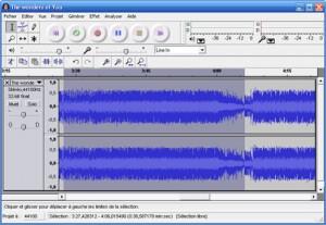 Audacity logiciel gratuit de montage audio