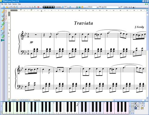 comment apprendre une partition de piano