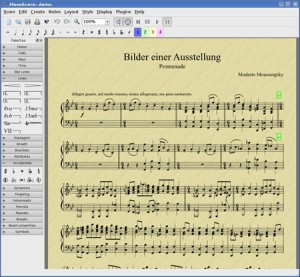 MuseScrore logiciel de cration de partition
