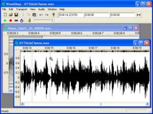 WaveShop logiciel gratuit de montage audio
