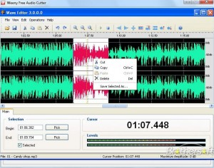 wave-editor couper assembler mp3