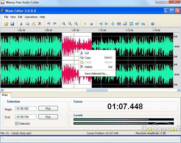 3 logiciels gratuits pour couper joindre des fichiers audio - Telecharger logiciel couper mp3 ...